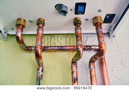 Gas Boiler Pipes