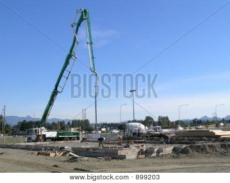Cement Pump Truck