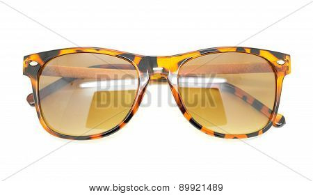 Isolated Sun Glasses.