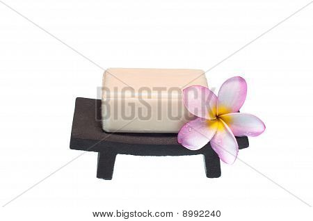 Zen Soap-dish with Flower