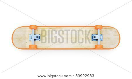 Inverted Skateboard