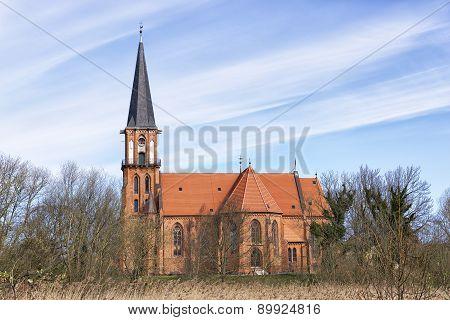 Typical Church Baltic Sea