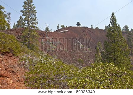 Lava Butte Forest And Surrounding Area.
