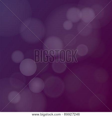 Dark Purple Bokeh Background