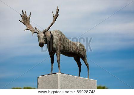 Sculpture Nida's Moose