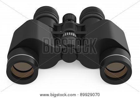 Binoculars Closeup