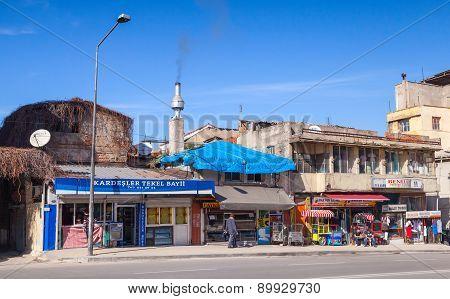Central Part Of Izmir City, Street View