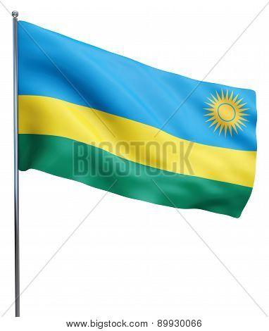 Rwanda Flag Image