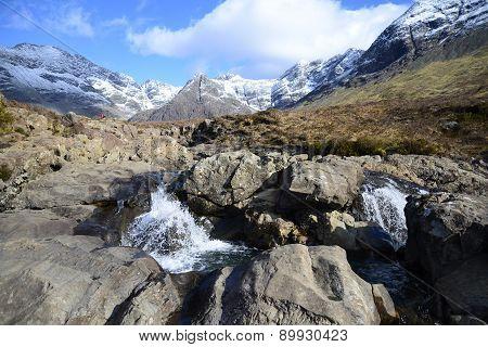 Rivière dans la montagne