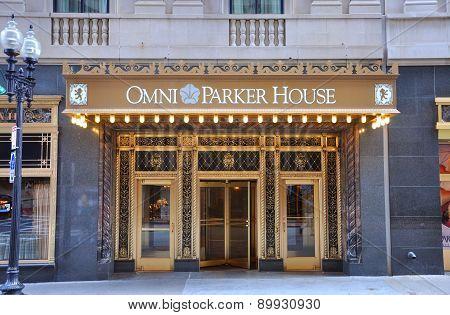 Omni Parker House, Boston