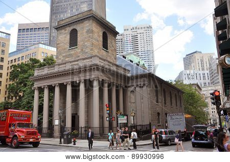 Kings Chapel, Boston, USA