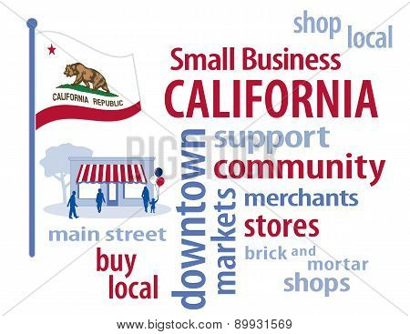 Small Business California, The Golden State Flag