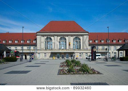 Weimar Railway Station, Thuringia, Germany
