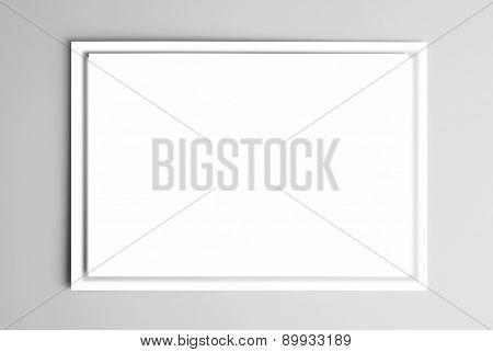 Blank frame card