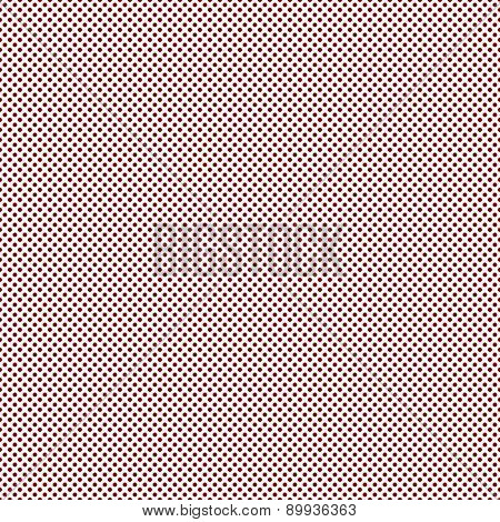 Red Small Polka Dot Pattern Repeat Background