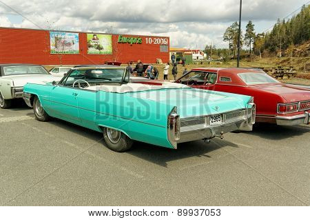 Turquoise Convertible