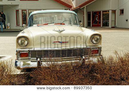Cream Colored Chevrolet