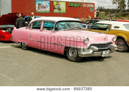 Chevrolet In Pink