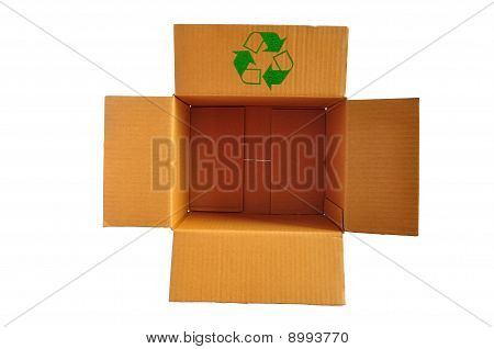 Brown Color Recycle Paper Box
