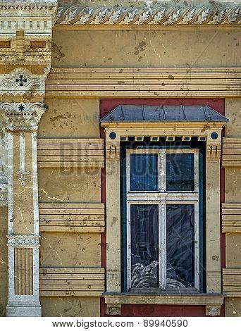 Old Window From Timisoara, Romania, In Vintage Look 4