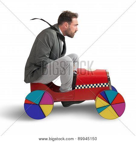 Graph car
