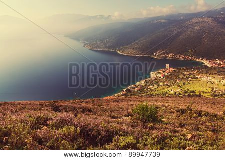 Beautiful island Kefalonia  in Greece