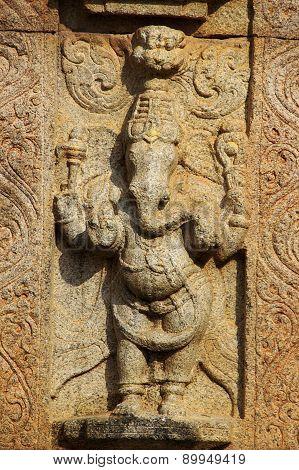 Statue Of Standing Ganesha