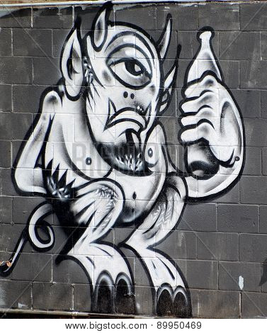 Mural aliens