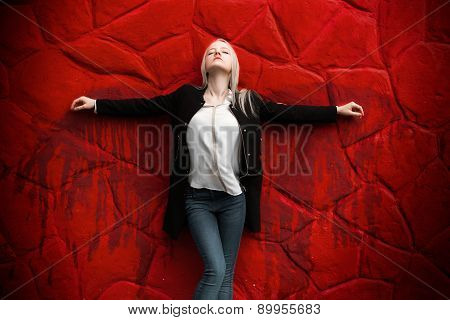 Girl With Blood Wings