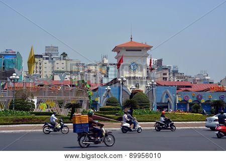 Ben Thanh Market, Saigon Vietnam