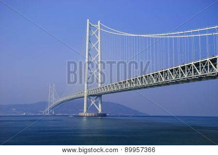 Akashi Kaikyo Bridge, Kobe, Japan