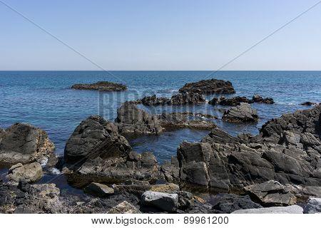 Coastline Off Of Heonhwa Road