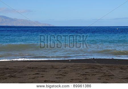 Brava And Black Sand Beach