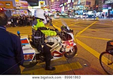 Acid Attack In Hong Kong