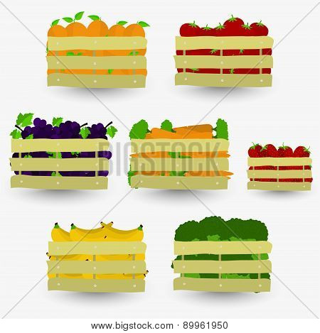 Vegetables Crate