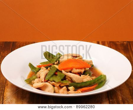 Thai Chicken And String Beans