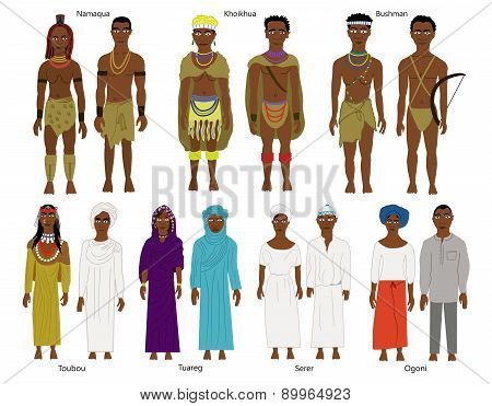 Southern & west African tribes and people