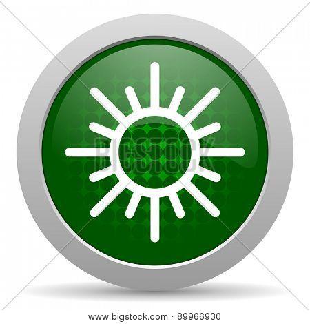sun icon waether forecast sign