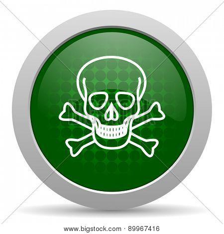 skull icon death sign