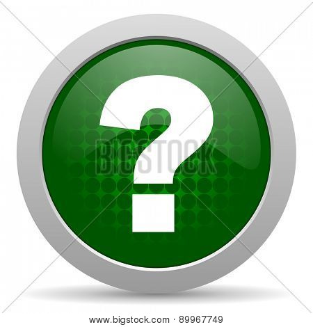 question mark icon ask sign