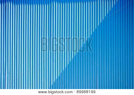 Blue stripped background