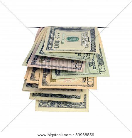 Dollars In The Slit.