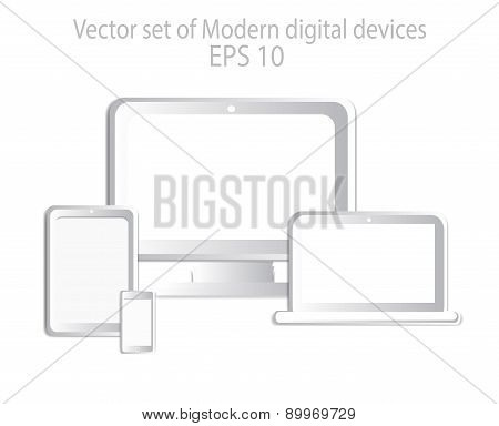 Digital Devices White