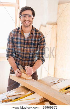 Skilled Carpenter.