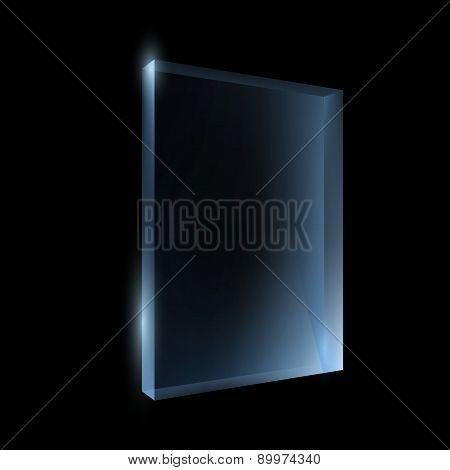 Empty Glass Box