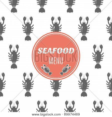 Seafood Menu With Lobster