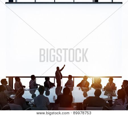 Meeting Room Business Meeting Leadership Concept