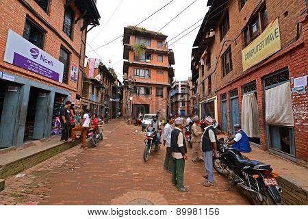 Kathmandu Suburbs, Nepal