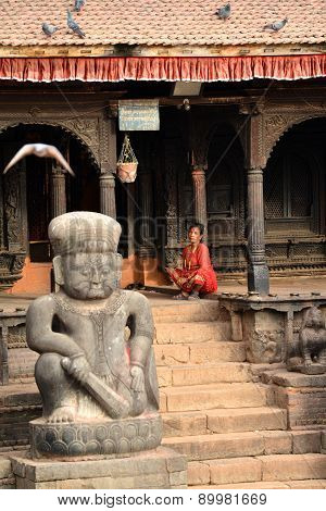 Unesco Heritage Architecture Of Bhaktapur, Now Destroyed After The Massive Earthquake That Hit Nepal