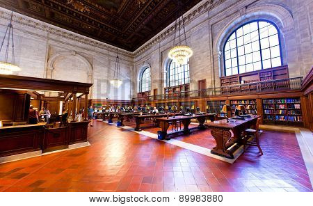 Inside Famous Old New York Public Library